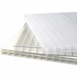 Plancha policarbonato blanco