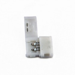 Conector sin cable 2 vias Monocolor para tiras 3528/5050