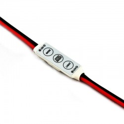 "Controlador ""Mini"" monocolor para tiras flexibles 12V"