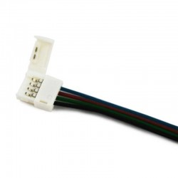 Conector con cable simple RGB para 5050