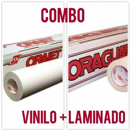 COMBO VINILO + LAMINADO  POLIMERICO