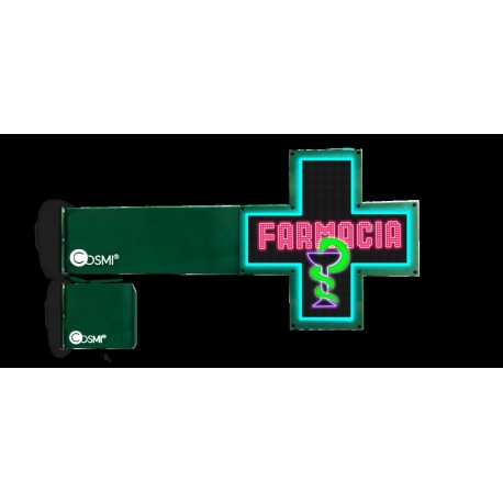 Cruz de farmacia full color P6