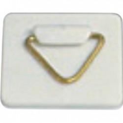 Colgador triangular base cuadrada autoad. 35 mm caja 100 unidades
