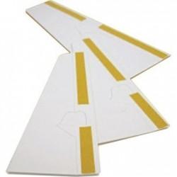 Peana de cartón blanca ADH