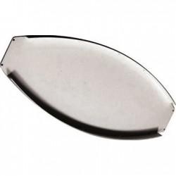 Tapa para perfil banderola curvo aluminio