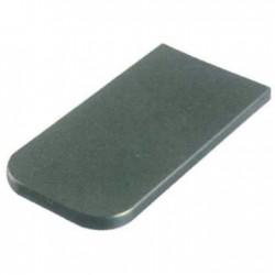 Tapa pantalla Asturias gris PVC