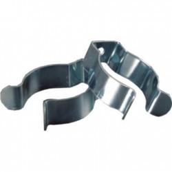 Pinzas de metal para tubo fluorescente