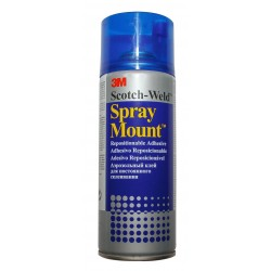 Spray Mount adhesivo reposicionable 3M 400ml