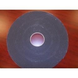 Cinta espuma adhesivo doble cara para textil negra 25mm x 12mm
