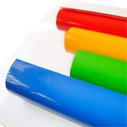 Vinilos para Textil Flex con soporte poliéster 25m x 50cm
