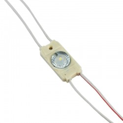 MOD.1LED SMD3030 -1.44W-12V-165º IP65  blanco frío 6000K 160º 1.44W (PACK 20 UND )