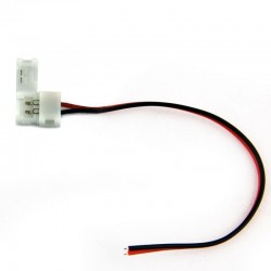 Conector con cable simple Monocolor para 3828