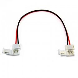 Conector con cable doble  Monocolor para 3828