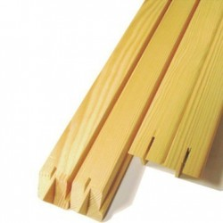 Bastidores madera posformada museum 39 mm (lote de 6 U)