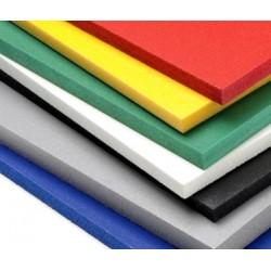 PVC 10MM NEGRO PLANCHA DE 305X205CM