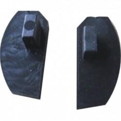 Tapa p/banner rail aluminio con fleje