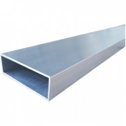 Perfil estructura tramuntana 60X20X2mm barra de 6m